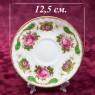 Коллекционная Чайная пара «Садовая Роза» Фарфор ROSINA Fine Bone China Англия.