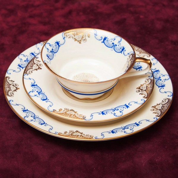 Коллекционная Чайная пара+Тарелка (Тройка) Фарфор РОЗЕНТАЛЬ ROSENTHAL -1939 год.