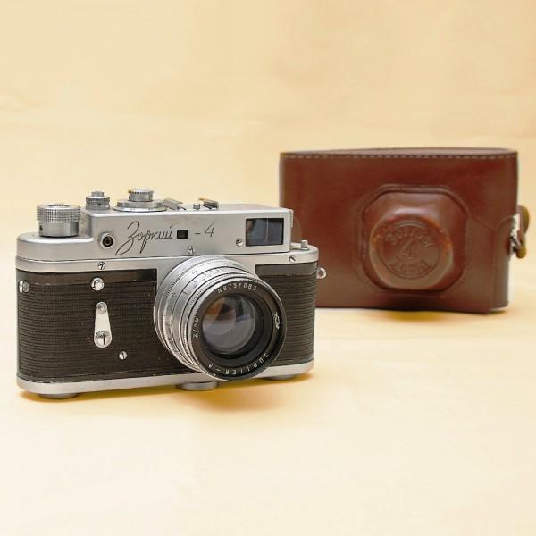 Фотоаппарат «Зоркий-4» Специальный выпуск - «50 лет Советской власти» СССР - 1967 год.