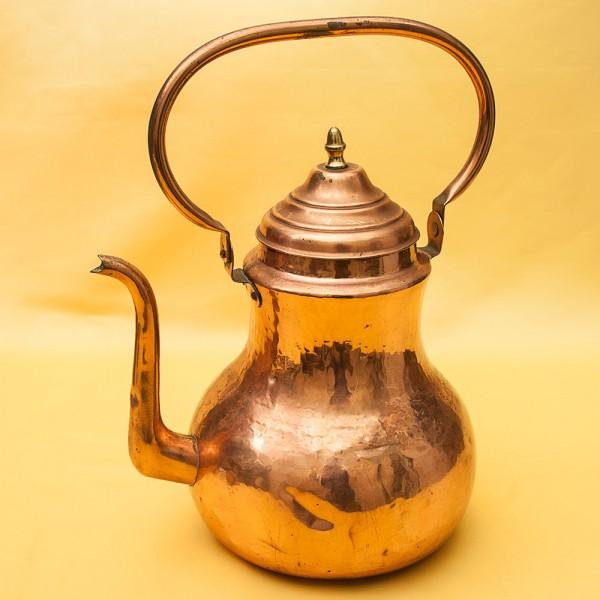 """Винтажный Медный Чайник на 4,5 литра, от фирмы """"MECAP"""" Бельгия, середина ХХ века!"""
