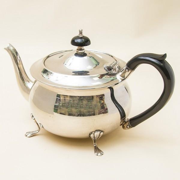 Винтажный Металлический Заварочный Чайник на 850 мл. Silverplate, Англия 60-е годы ХХ века.