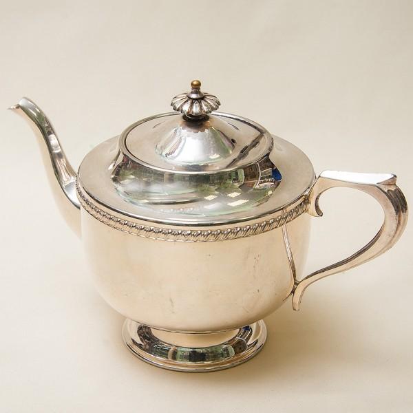 Металлический Заварочный Чайник на 1,2 л. Silverplate, SHEFFIELD Англия 50-е гг.