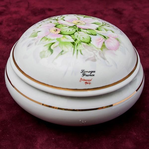 Шкатулка «Цветочная Нежность № 8» Фарфор Лимож Limoges Франция