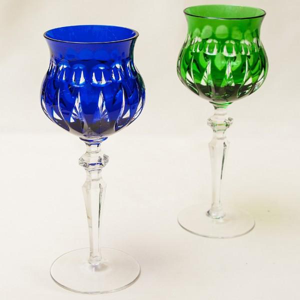 Два Хрустальных Бокала «МЕРИЛИН» для вина,, NACHTMANN Германия, 60 -е годы ХХ века.