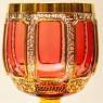 Бокалы для Вина - «Розовый Бриллиант», Хрусталь ERNST WITTIG, Германия середина ХХ века.