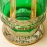 Редкость!!! Графин - Штоф «Зелёный Изумруд», Хрусталь ERNST WITTIG, Германия середина ХХ века.