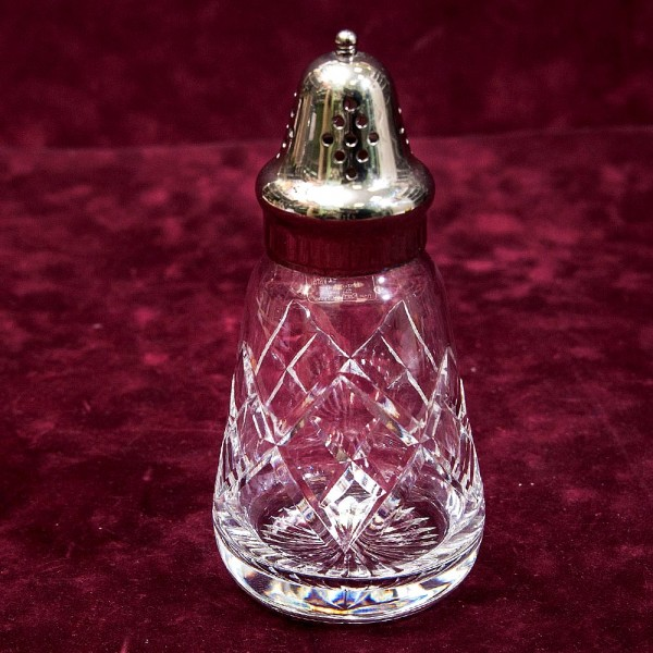 Винтажная Хрустальная Баночка - Емкость - Флакон, Tudor Crystal Англия, 70 -гг.