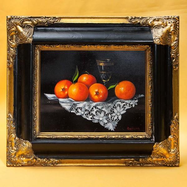 Художественная Картина «Натюрморт с апельсинами». Франция, начало ХХ века.