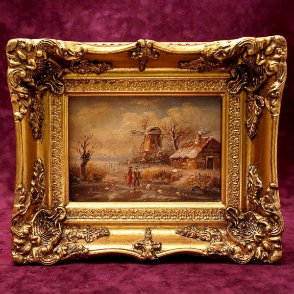 Художественная Картина Пейзаж «Спокойное море» Холст, масло, вторая половина ХХ века.