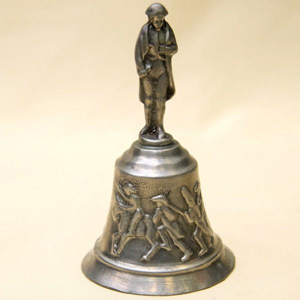 Коллекционный Оловянный Вызывной Колокольчик «Наполеон Бонапарт», Бельгия 60-е гг.