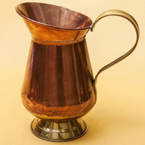 Винтажный Медный Кувшин на 1,4 литра. Англия середина ХХ века.
