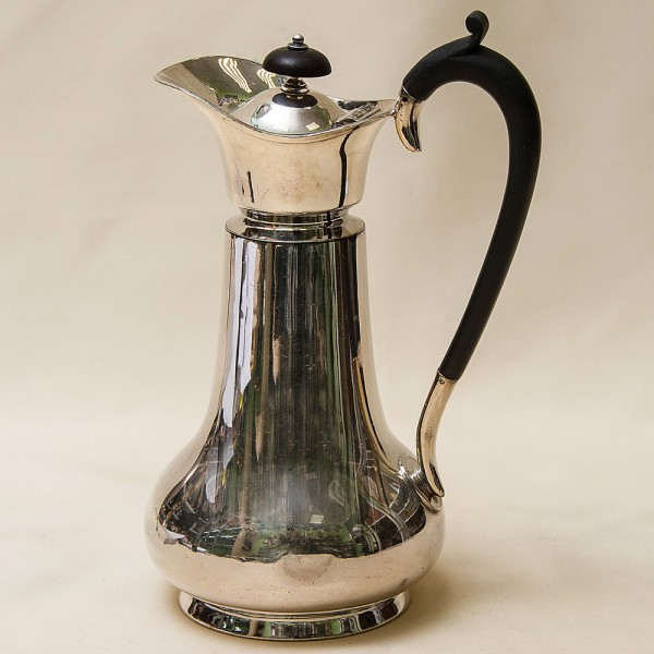 Винтажный Металлический Кофейник - Кувшин на 0,8 литра. Silverplate, Англия 50-е годы ХХ века.