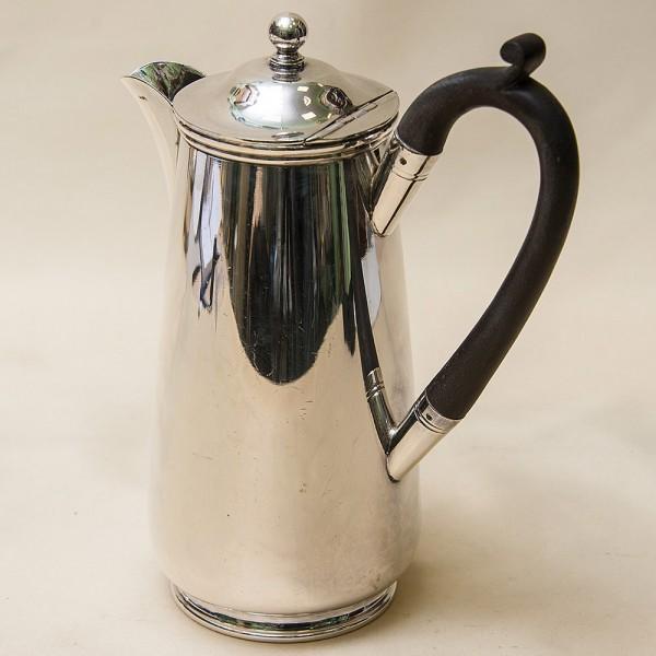 Классический Металлический Кофейник - Кувшин на 0,8 литра. Silverplate, Англия 50-е годы ХХ века.