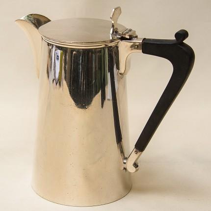 Металлический Кофейник - Кувшин на 0,8 литра. Silverplate, Англия 50-е годы ХХ века.