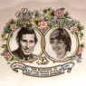 Оригинальное Сувенирное Блюдце - Мелочевница «Свадьба Леди Ди» Фарфор Англия -1981год.