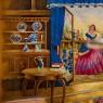 Антикварная Сервировочная Менажница - Блюдо - Тарелка Фаянс Англия -1906-1930 годы