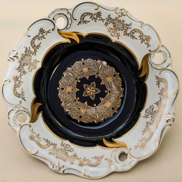 Коллекционное Сервировочное Блюдо Тарелка «Солнечный Ветер» Фарфор WEIMAR Германия -1949 год.