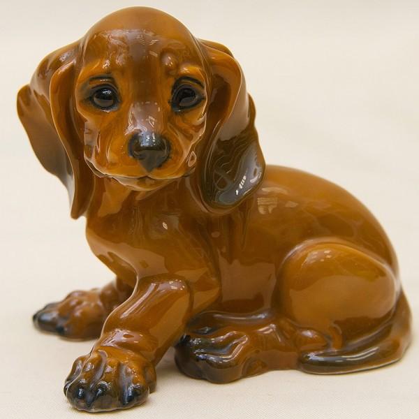 Коллекционная Статуэтка Собака, «МАЛЕНЬКАЯ ТАКСА», Фарфор ROSENTHAL, Германия -1974 год.