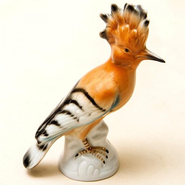 Птица - Фарфоровая статуэтка «УДОД» Wagner & Apel Lippelsdorf,  Германия.