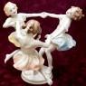 Фарфоровая Статуэтка «Майский Танец», Hutschenreuther,  Германия -1955-1968 годы.