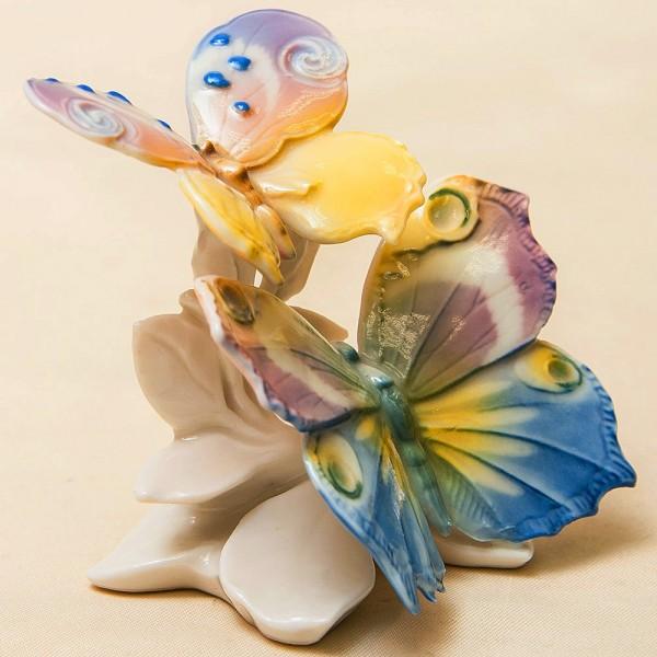 Коллекционная Фарфоровая Статуэтка «Бабочки», Карл Энц / Karl Enz, Германия 50гг.