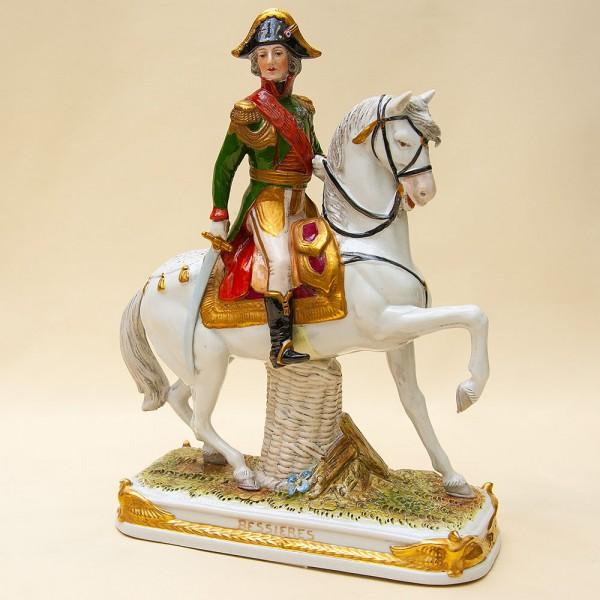 Коллекционная Статуэтка «Генерал БЕССЬЕР на коне» Фарфор Scheibe - Alsbach Германия -1952-1972 г.