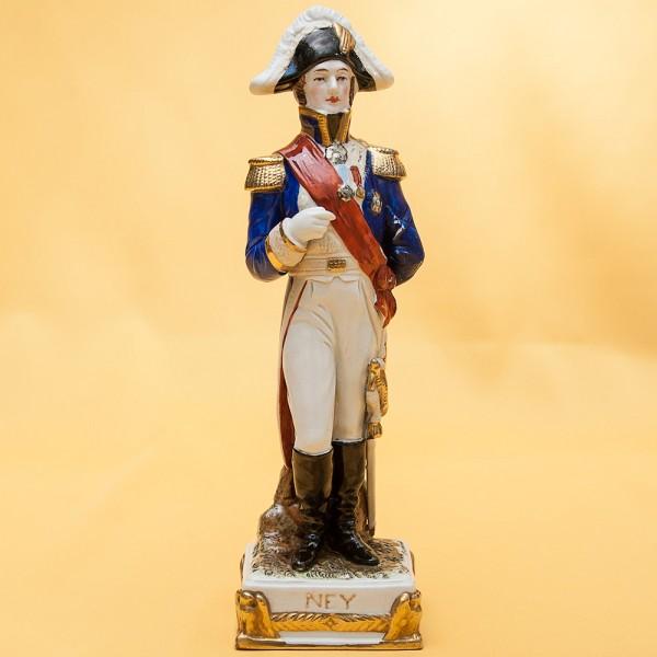 Статуэтка «NEY» серия «Маршалы Армии Наполеона» Фарфор Scheibe - Alsbach.
