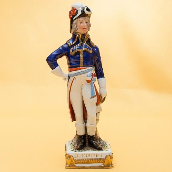 Статуэтка «DUMURIEZ» серия «Маршалы Армии Наполеона» Фарфор Scheibe - Alsbach.