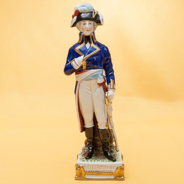 Статуэтка «KELLERMANN» серия «Маршалы Армии Наполеона» Фарфор Scheibe - Alsbach.