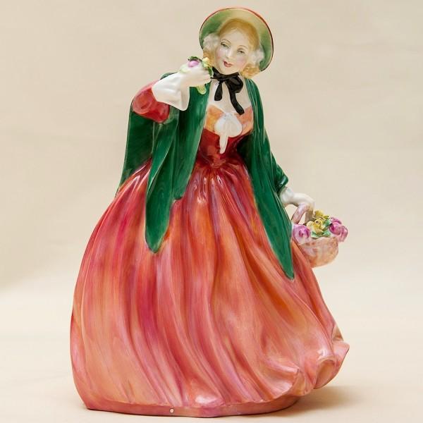 Коллекционная Фарфоровая статуэтка «Lady Charmian» - Н-20 см., Royal Doulton, Англия.