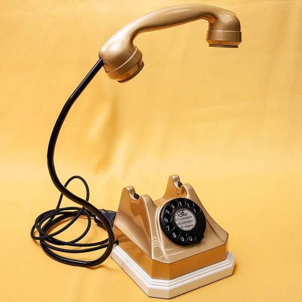 Дизайнерская Электрическая Настольная Лампа Светильник «Старый Телефон».