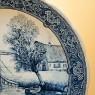 Декоративная Фарфоровая Тарелка «У МОСТА» ROYAL BOCH, d -31 см.