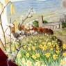 Коллекционная Тарелка «Март» Фарфор, ROYAL WORCHESTER, Англия -1979 год.