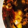 Коллекционная Тарелка «НОЧНОЙ ДОЗОР» Фарфор, Furstenberg, Германия 70-е гг.