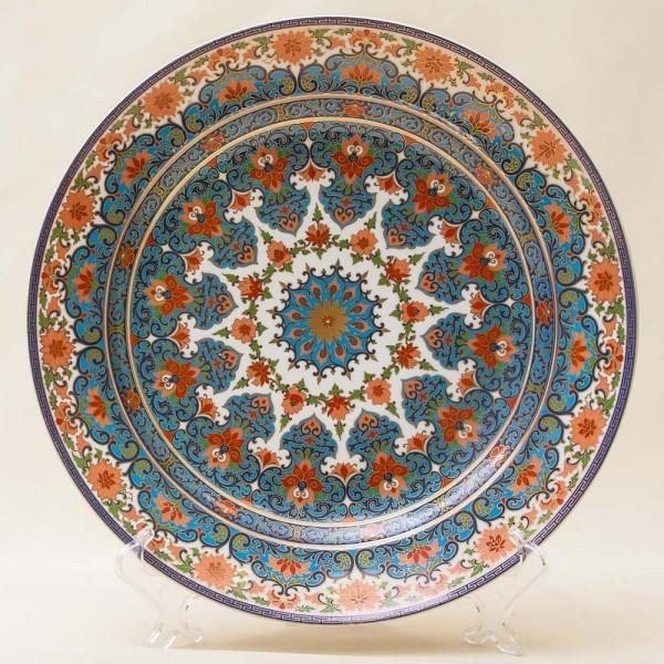 Большое Коллекционное Блюдо - Тарелка из серии «Wuhan» Фарфор KAISER Германия D -32 см.
