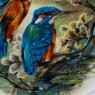 Коллекционная Тарелка «Зимородки» Фарфор, Розенталь Rosenthal Германия -1996 год.
