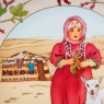Коллекционная Тарелка «Дети Мира» - «Афганистан» Фарфор Heinrich Villeriy&Boch - 1980 год.