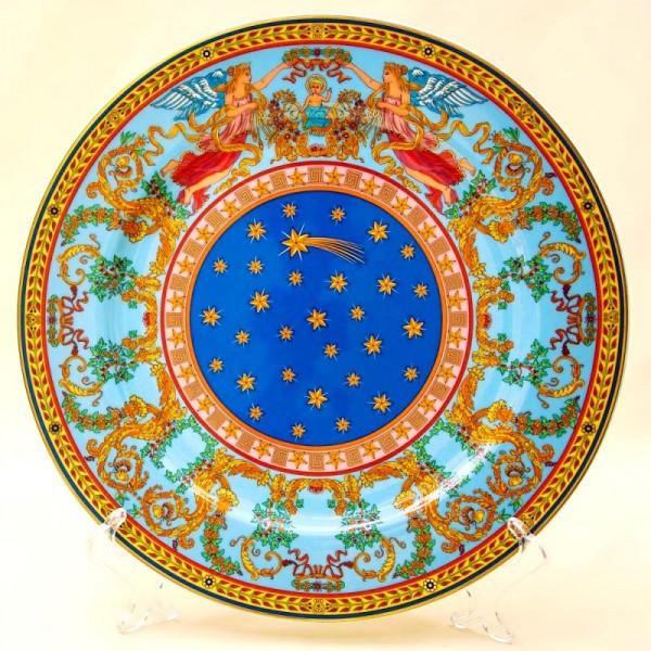 Коллекционная Тарелка - Блюдо «РОЖДЕНИЕ» Фарфор, VERSACE, Rosenthal Германия -1997 год.