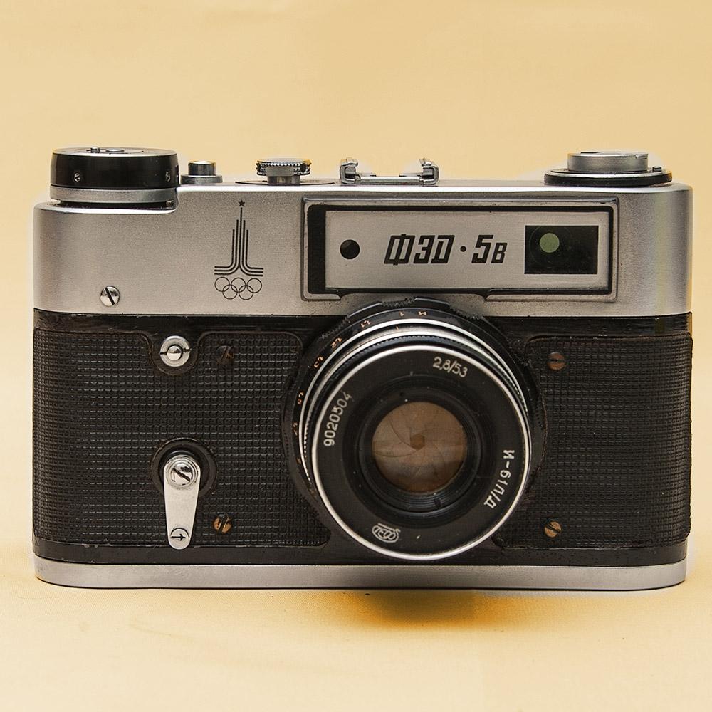 Фотоаппараты 1980 годов