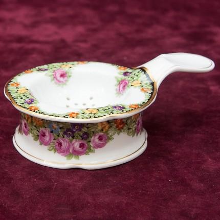 Редкость! Коллекционное Фарфоровое Чайное Ситечко ROSENTHAL Германия 1891-1906 годы.