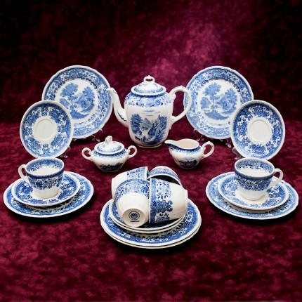 Классический чайный сервиз «Burgenland» на 6 персон VILLEROY&BOCH, Германия - середина ХХ века.