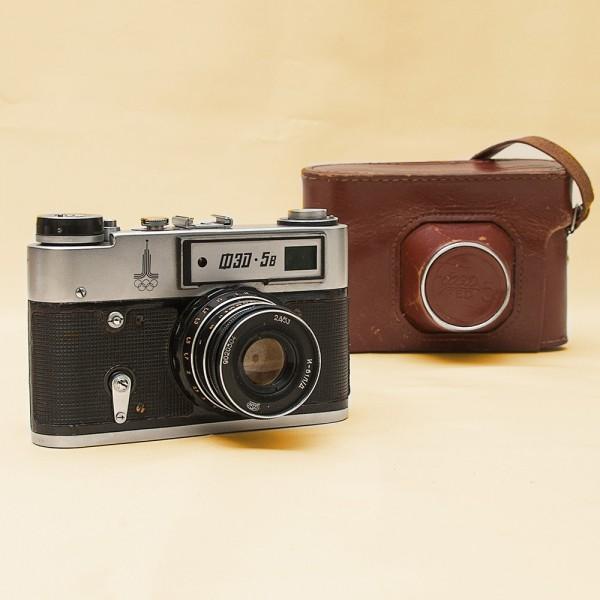 Плёночный фотоаппарат «ФЭД-5В» Специальный выпуск - «Олимпиада - 80» СССР - 1980 год.