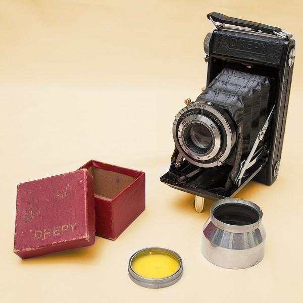 Винтажная Редкая Фотокамера Andre Pierrat «Drepy» - Франция - 1949 год.