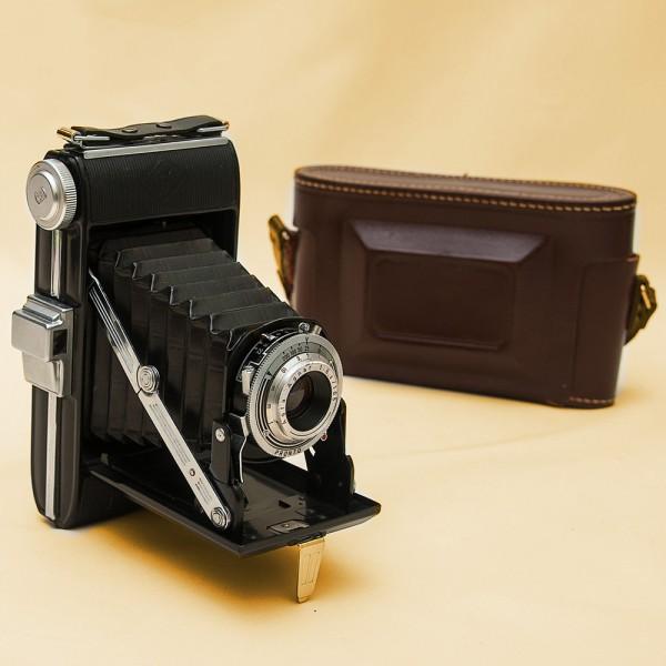 Винтажная Редкая Фотокамера - Фотоаппарат Agfa Billy Record I - ФРГ - 1949 год.
