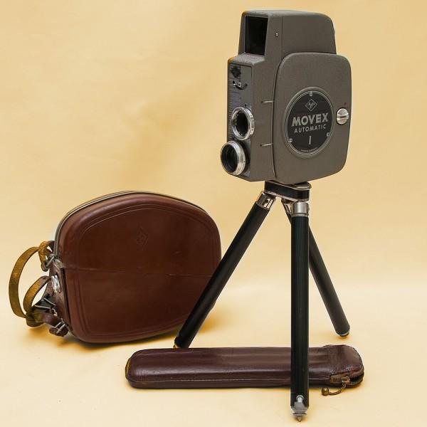 Первая Автоматическая Модель! Кинокамера «Agfa Movex Automatic-1» - Германия - 1959 год.