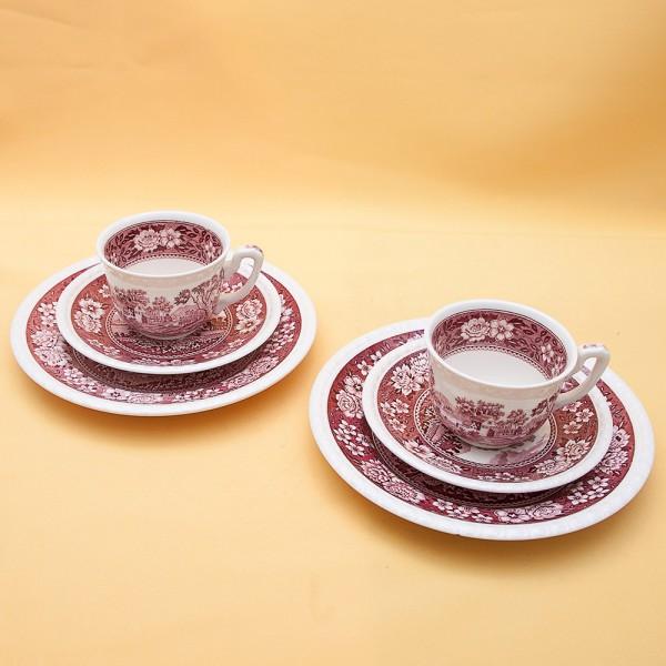 Чайный фарфоровый набор «Тет-а-Тет» - «Rusticana» VILLEROY&BOCH, Германия 50-е годы.