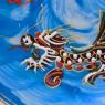 """Сервиз """"Сацума"""" Чайный на 4 -е персоны «Небесные Драконы» Япония"""
