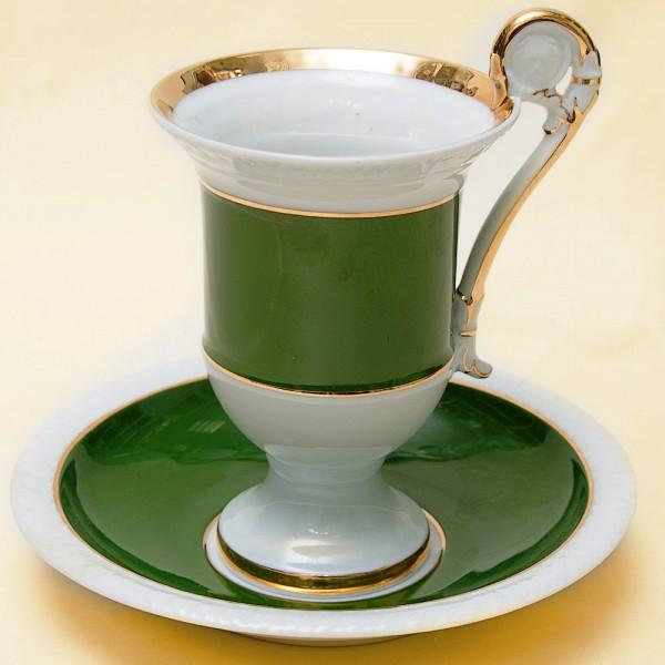 Чайная Пара «Благородная Зелень» Фарфор FURSTENBERG Германия