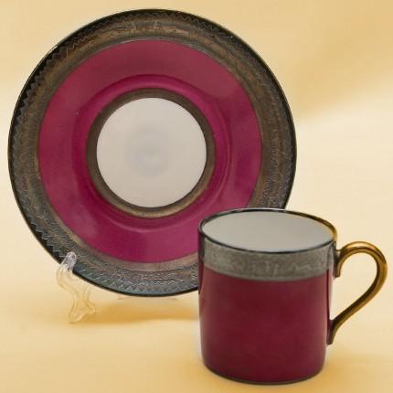 Коллекционная кофейная пара Фарфор Розенталь Rosenthal, Германия период 1946-1949 года.