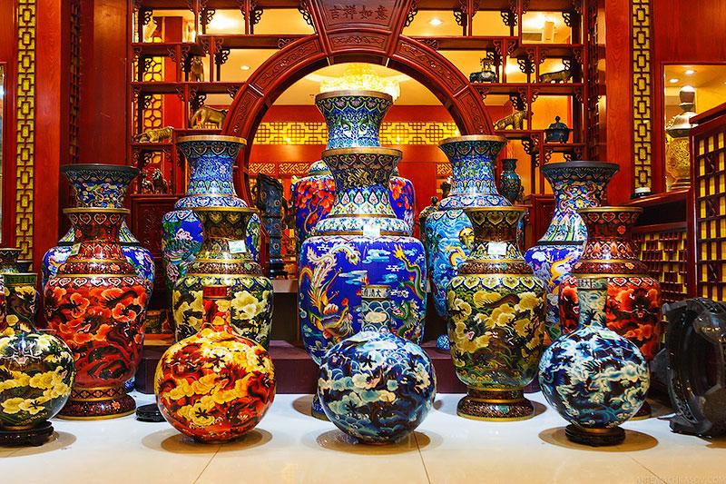 Винтажные керамические вазы